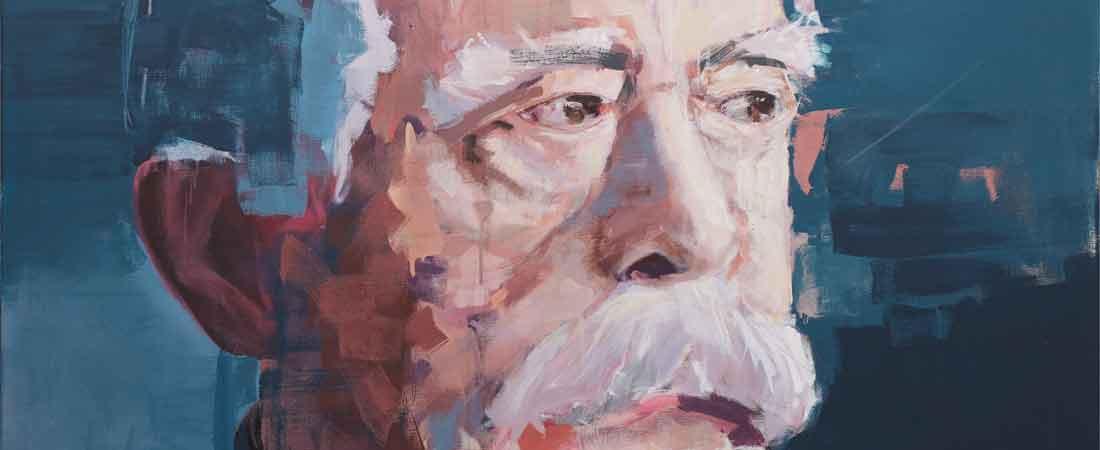 Portraitmalerei von Hartmut Hellner – Bismarck